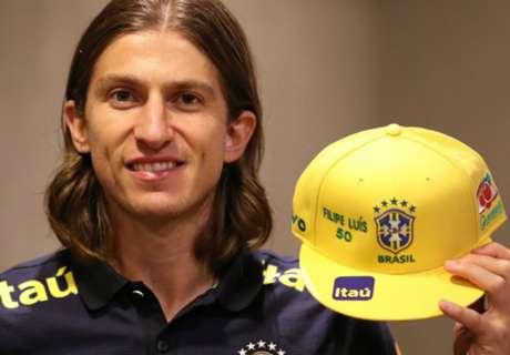 50 vezes Filipe Luís na Seleção