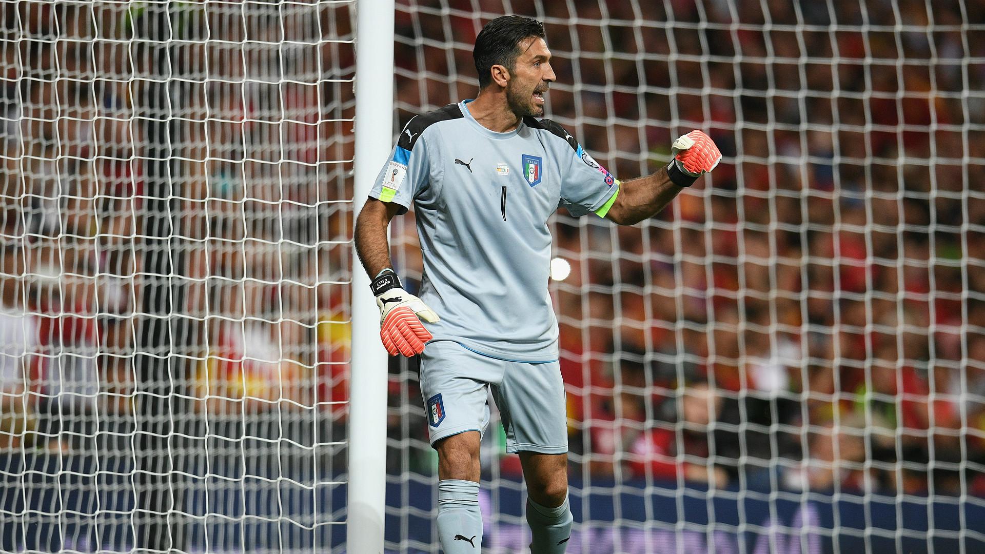 Gianluigi Buffon Spain Italy WC Qualifiers