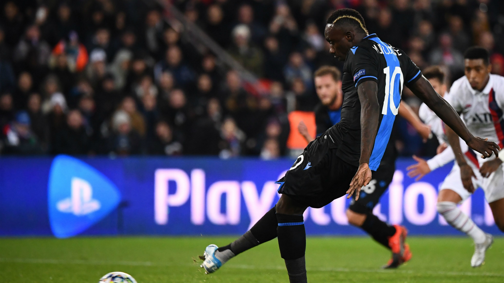 Club Brugge punish Diagne for missing penalty against PSG
