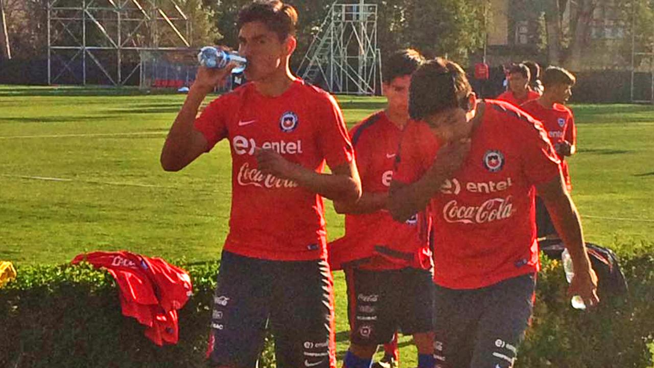 Chile U17 Ignacio Mesias
