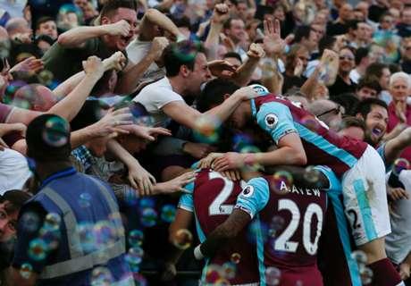 West Ham team news vs Everton