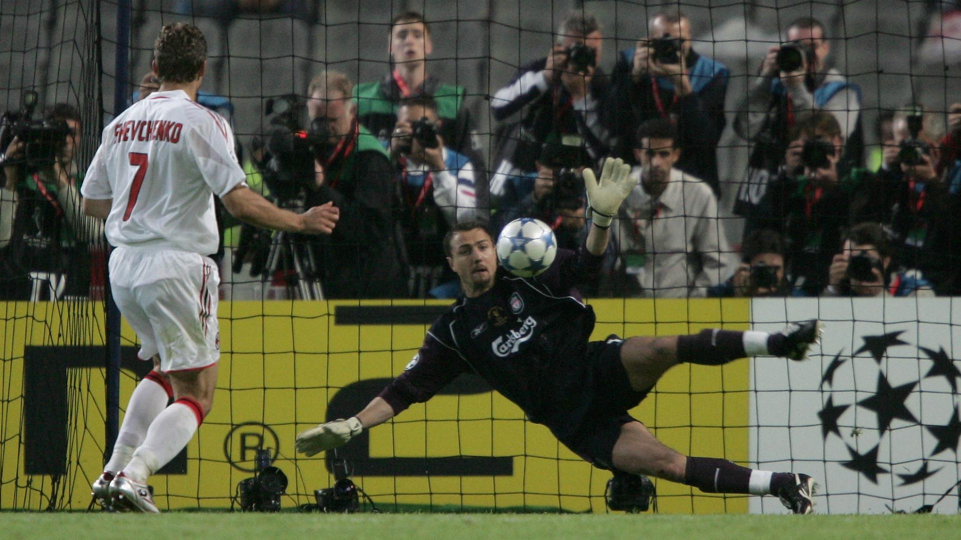 Jerzy Dudek Liverpool v Milan Champions League 25052005