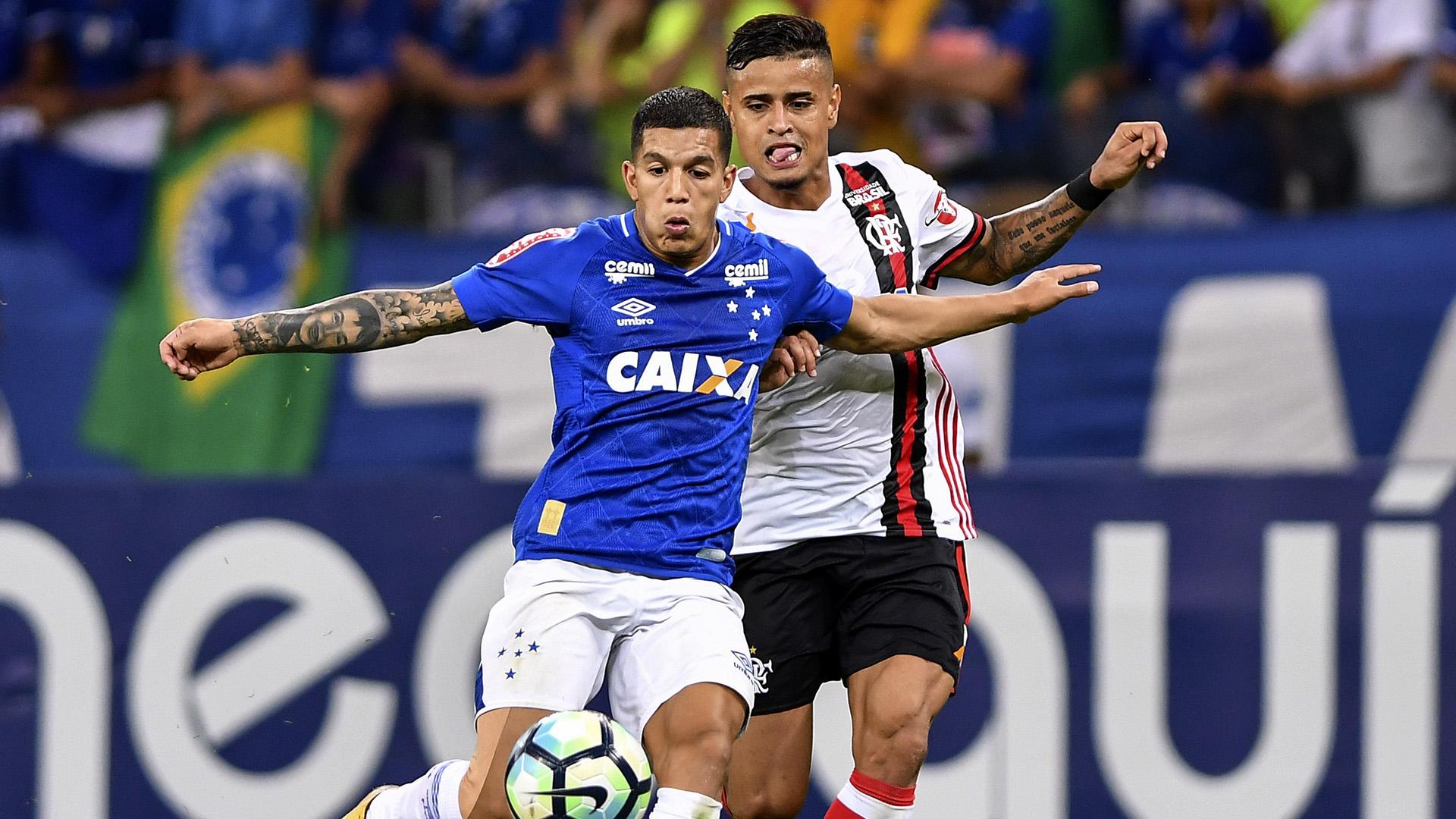 Lucas Romero Everton Cruzeiro Flamengo Brasileirao Serie A 16072017
