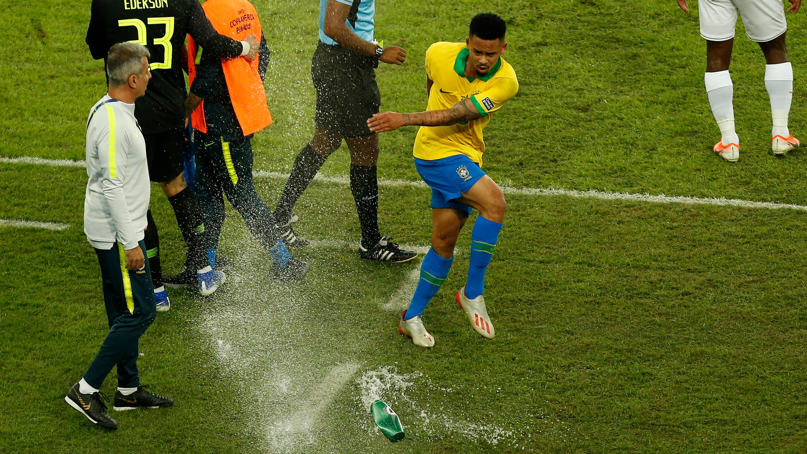 'I could have hurt someone' - Jesus apologises for Copa America final tantrum