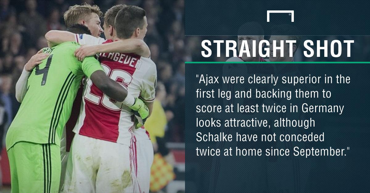 GFX Schalke Ajax betting