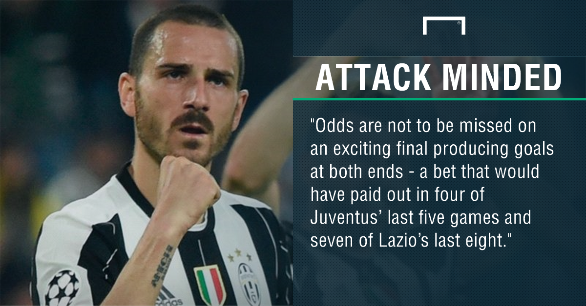 GFX Juventus Lazio betting