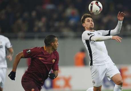 Astra Giurgiu-Roma 0-0: Poco spettacolo