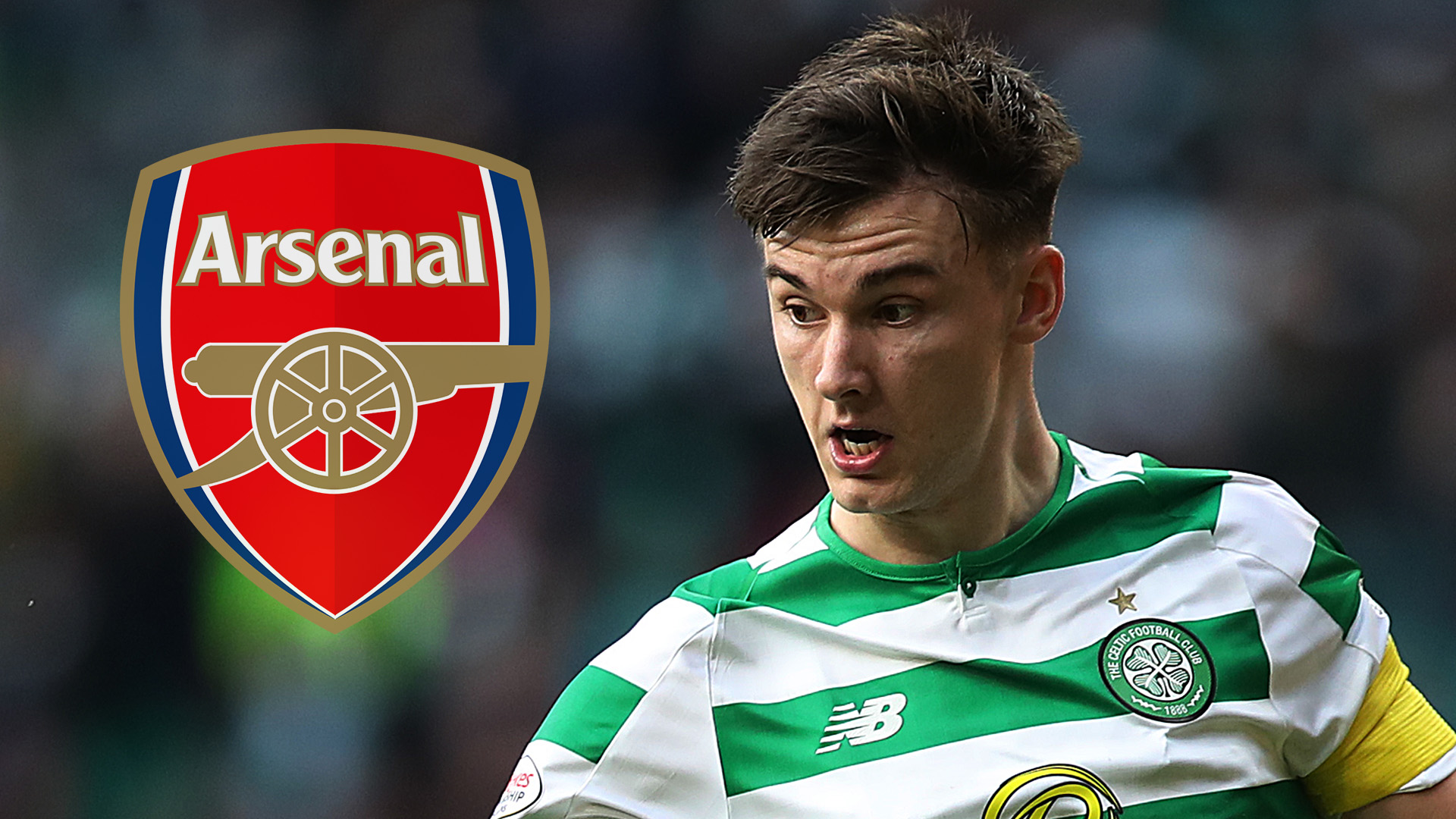 Arsenal £25m Tierney bid rejected by Celtic