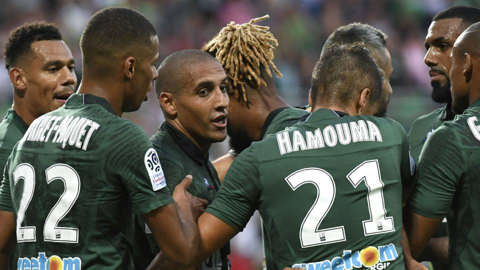 Wahbi Khazri, Saint Etienne vs. Guingamp, Ligue 1, August 11