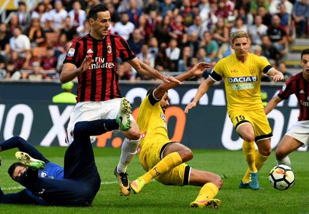 Laporan Pertandingan: AC Milan 2-1 Udinese