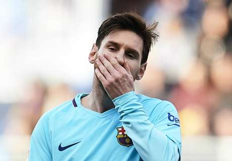 Messi posts unwanted record