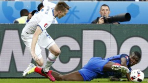Sigurdsson Pogba France Iceland Euro 2016 QF 07032016