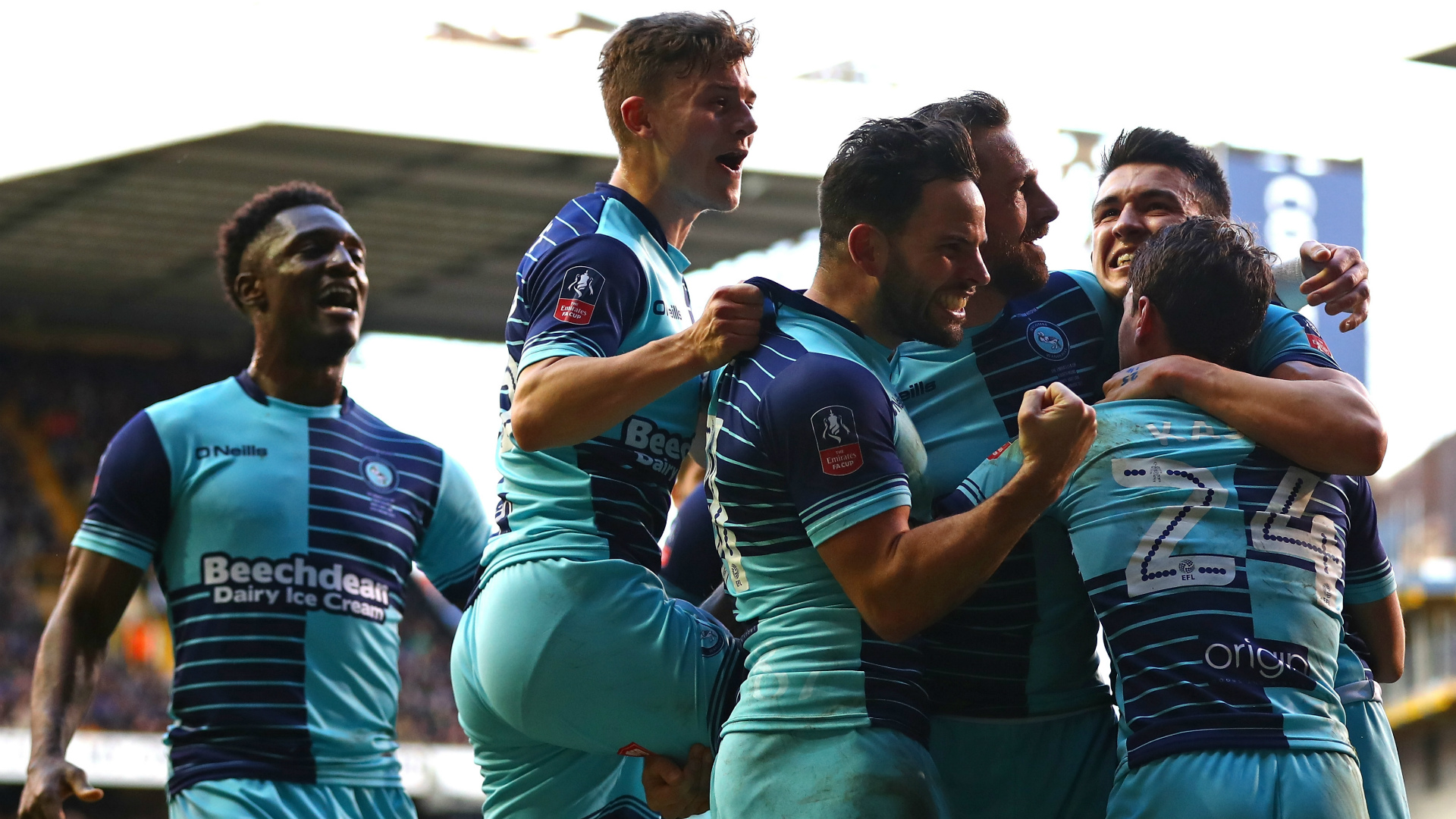 Tottenham Wycombe Wanderers FA Cup 28012017