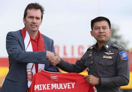 Mike Mulvey joins Thai club