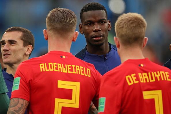 Classement FIFA - La Belgique toujours en tête, talonnée par la France
