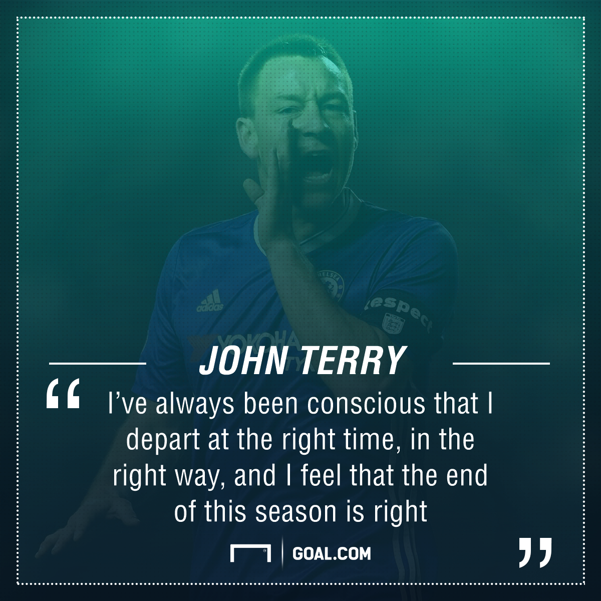 John Terry Chelsea leaving