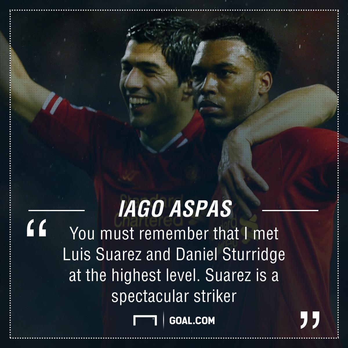 GFX Iago Aspas quote