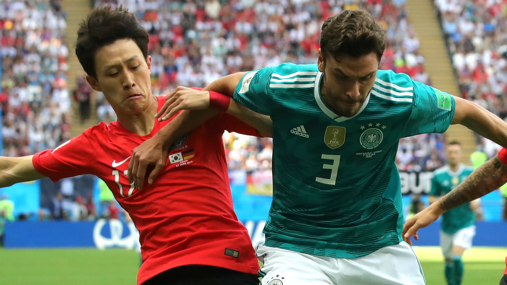 Shambolic Germany crash out with Korea loss