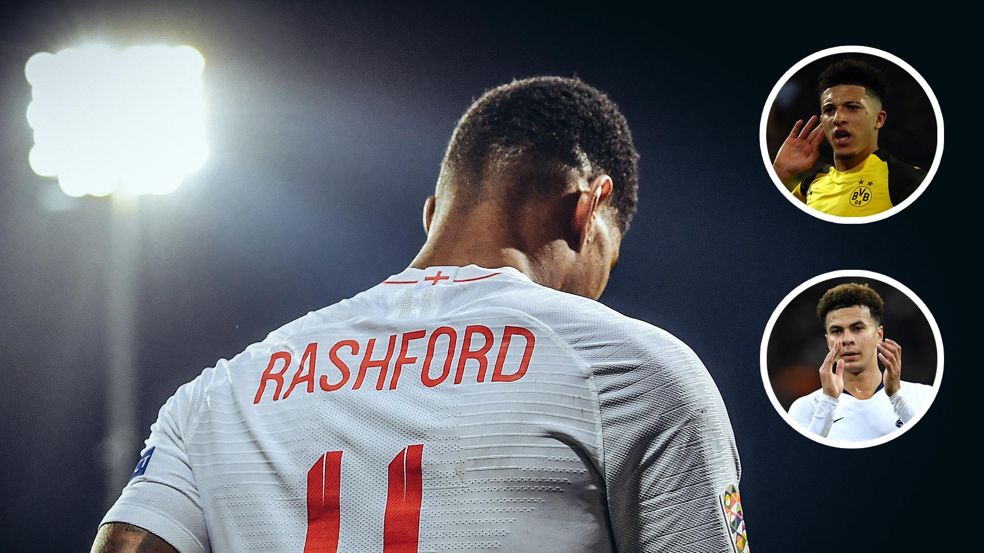 索斯盖特:拉什福德伤退给了年轻球员机会