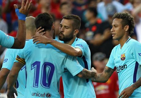 Barcelona venció al United