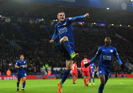 Leicester thump Liverpool