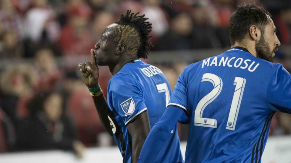 Dominic Oduro Matteo Mancosu Montreal Impact MLS 11302016