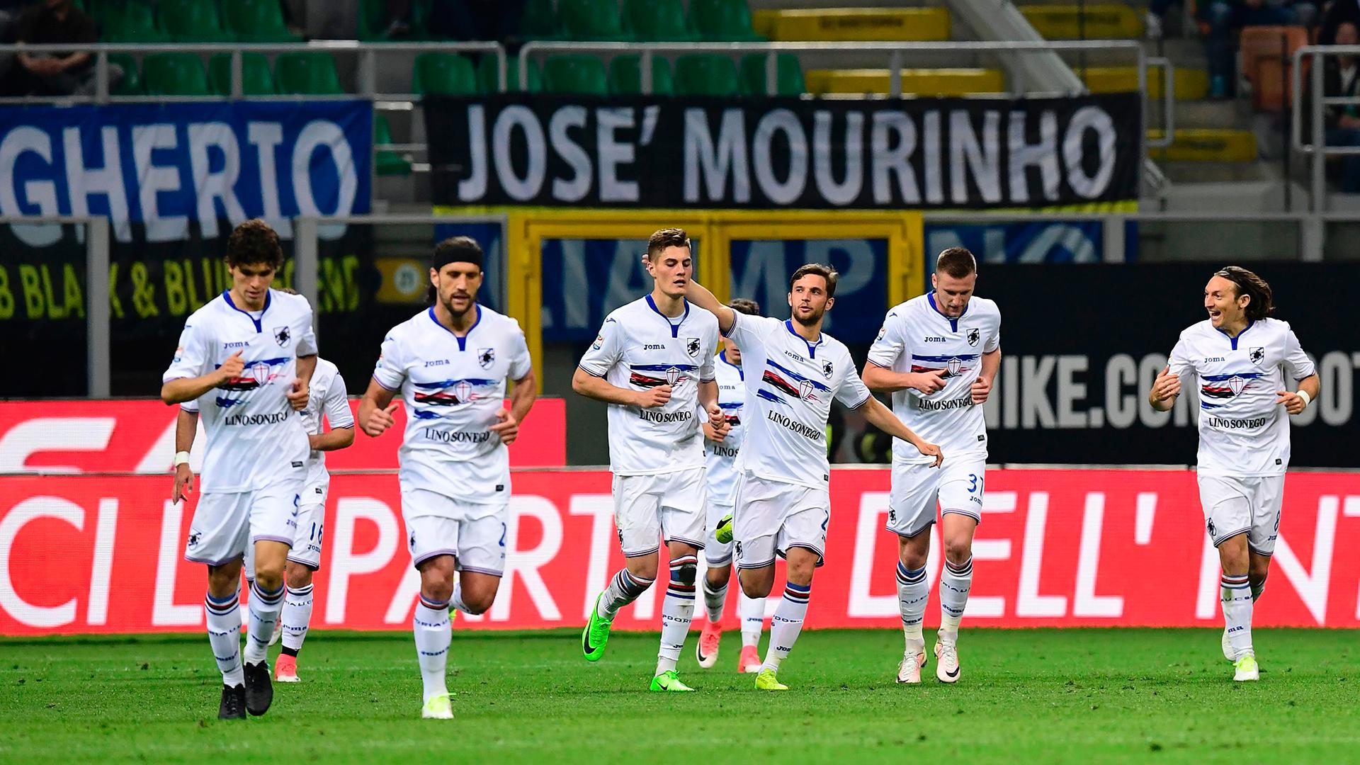 Patrik Schick Sampdoria Inter