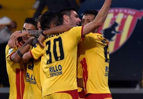 Serie B, 17ª - Benevento al terzo posto