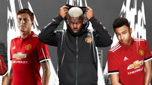 Manchester United home kit 2017-18
