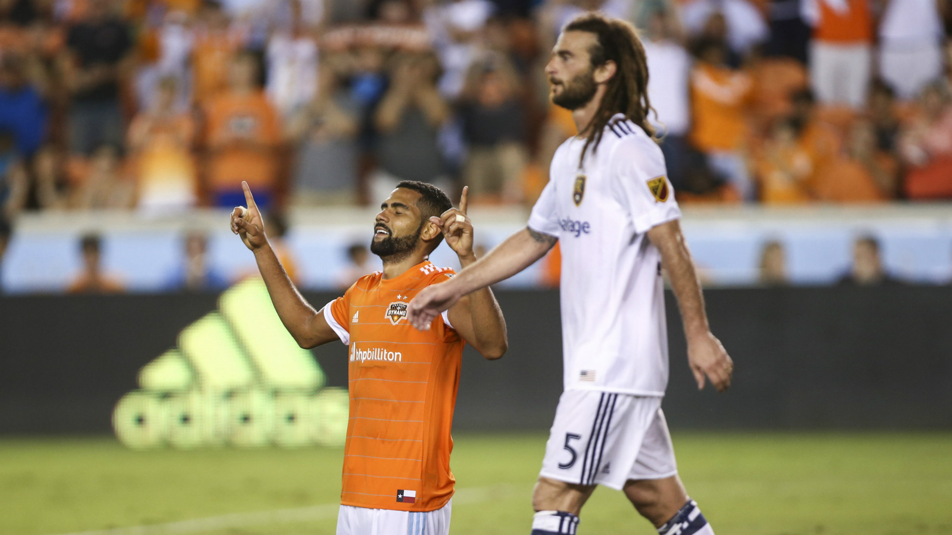 Leonardo Houston Dynamo Kyle Beckerman Real Salt Lake
