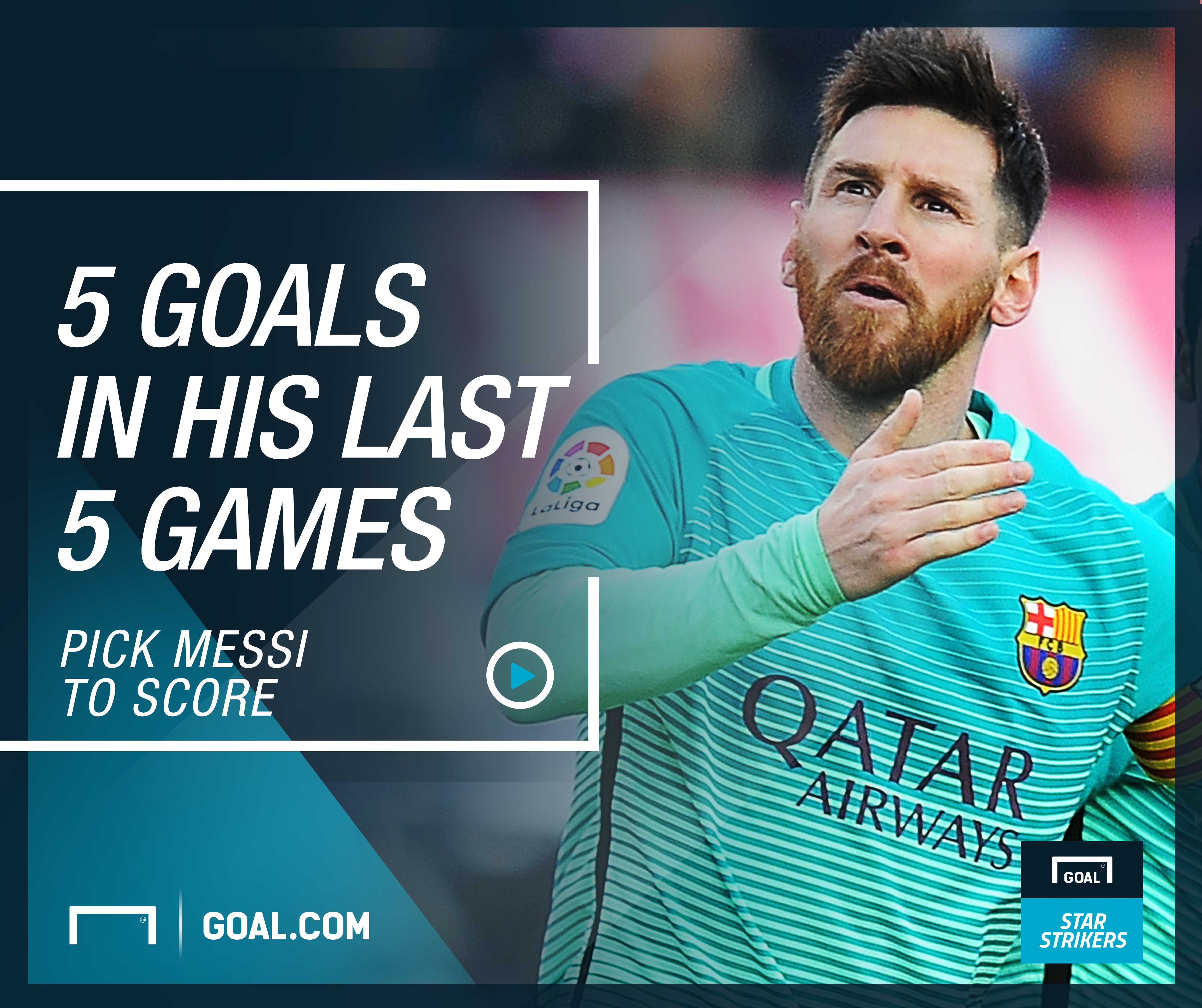 Messi, Goal Star Strikers