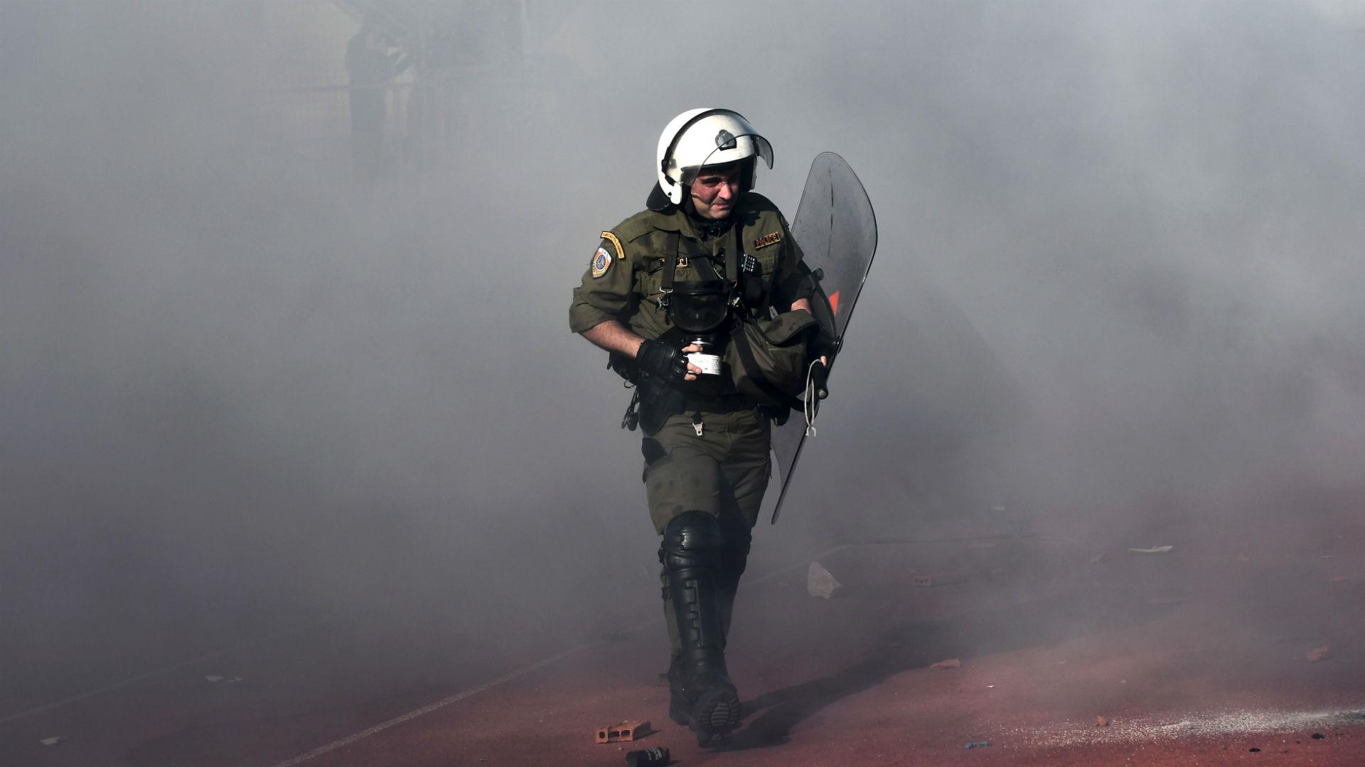 PAOK AEK Athens fans Greek Cup Final 06052017