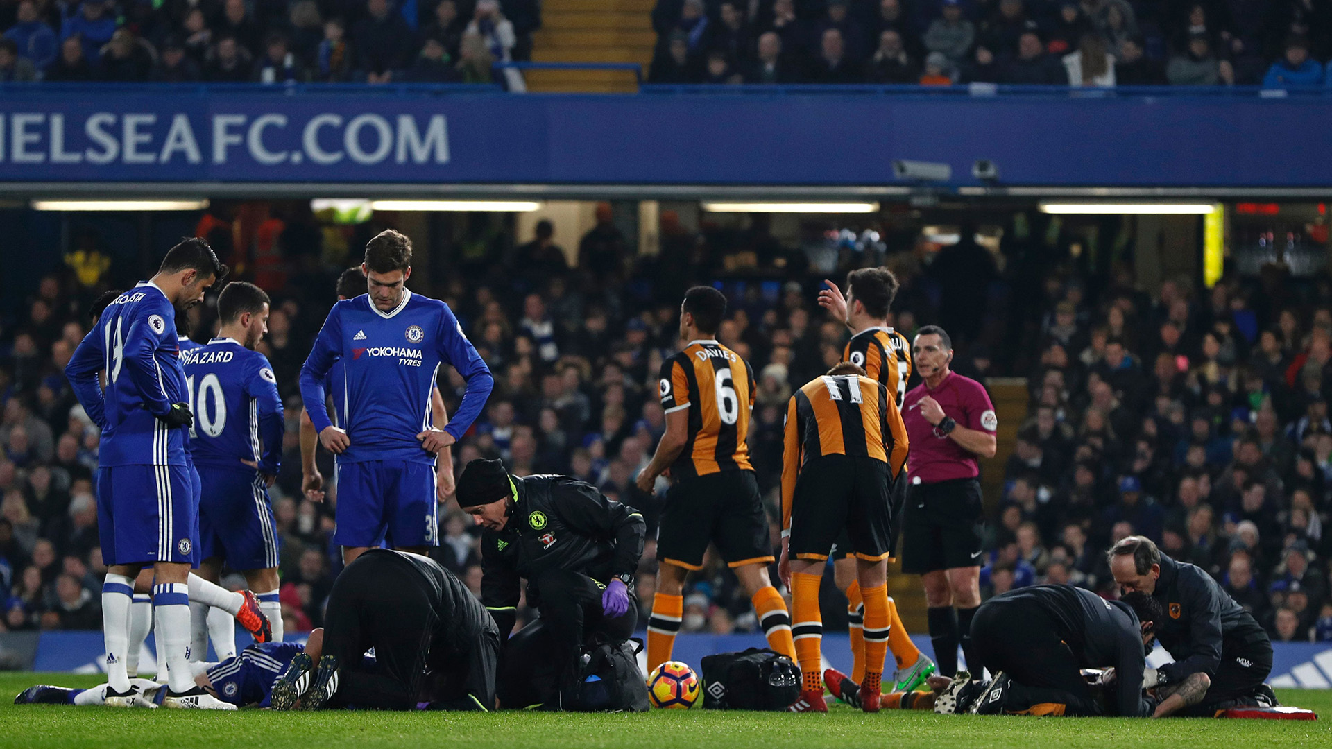 Chelsea Hull Ryan Mason injury