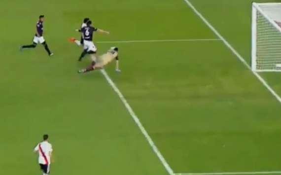 VIDEO: ¡Scocco siempre está! Nacho gritó el 1-0 de River sobre Lanús