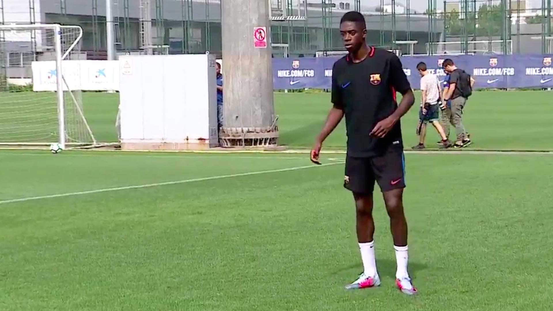 Mbappé aconselhou Dembelé: