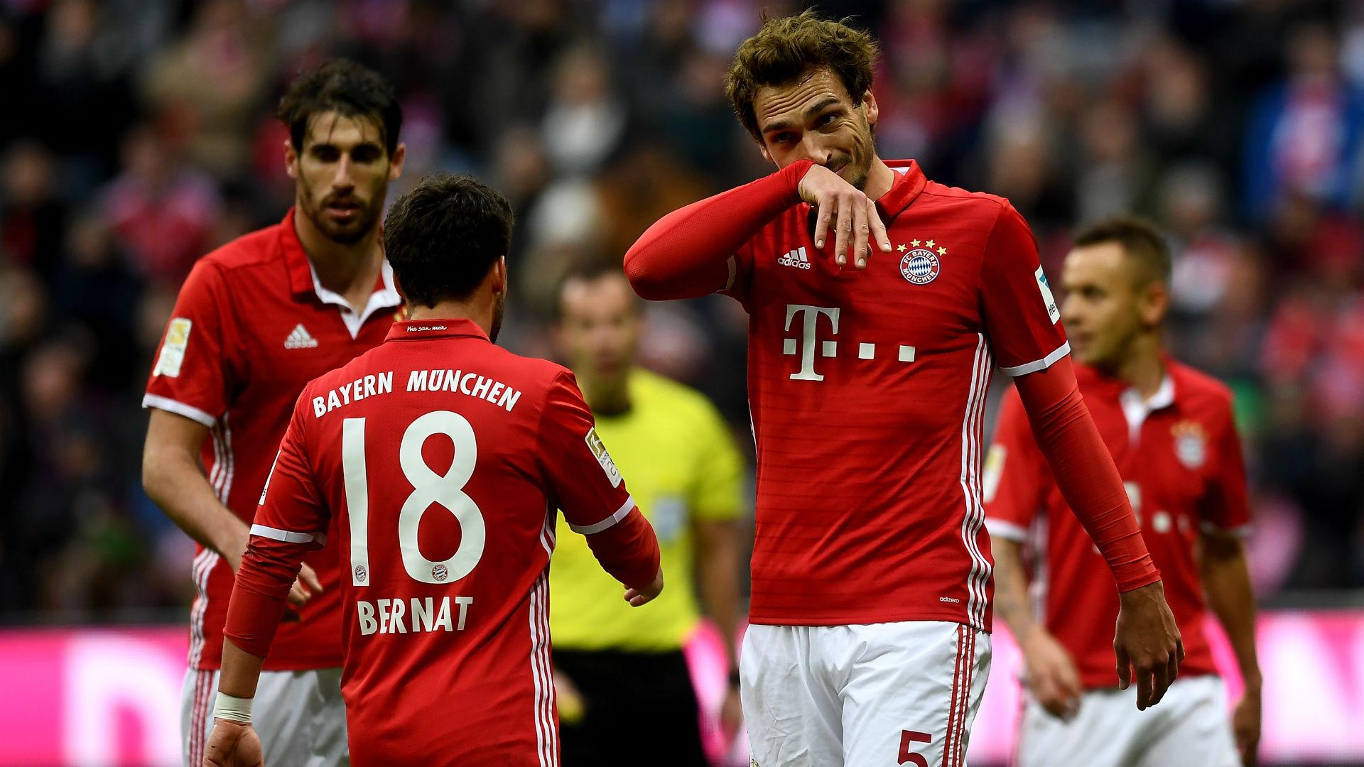 Bayern M U00fcnchen 1 1 Schalke 04 Match Report 2 4 17