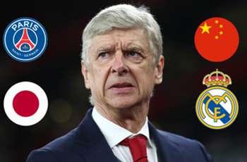 PSG, Real Madrid, Japan or China - What will Arsene Wenger's next job be?
