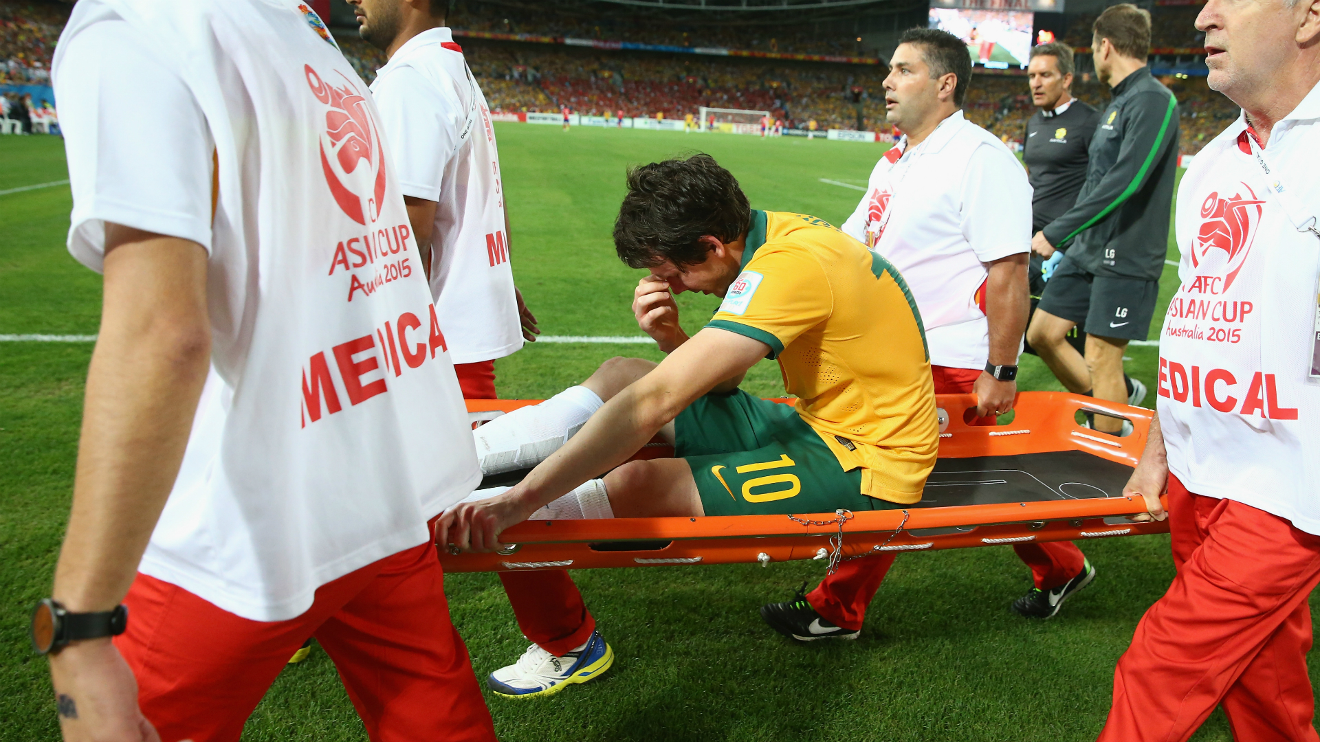 Robbie Kruse Australia v South Korea Asian Cup 31012015