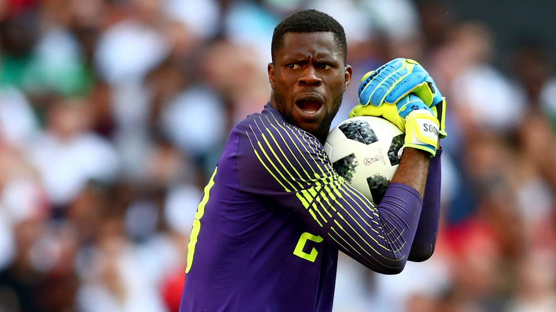 Afcon 2019: Akpeyi out, Uzoho in and Aina returns to Nigeria's starting XI against Tunisia