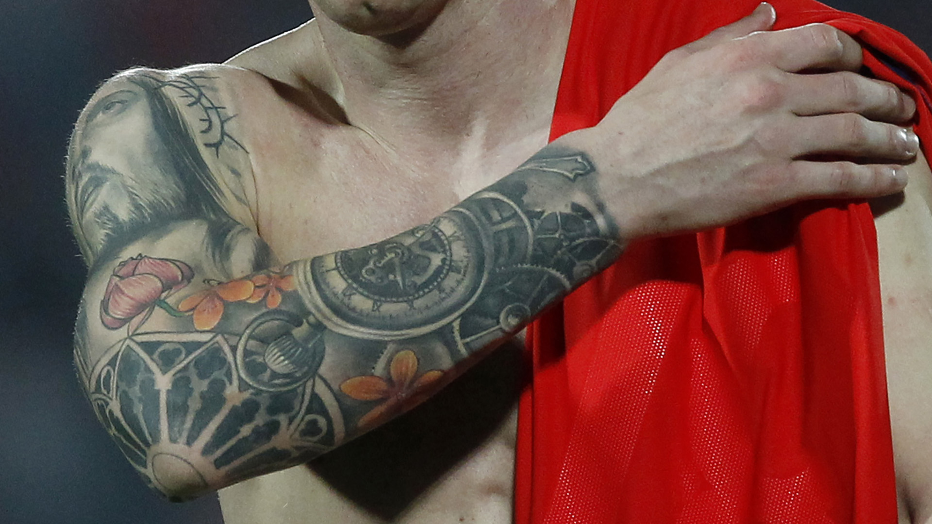 Lionel Messi's tattoos explained: What do they mean & whereabouts on his body are they?