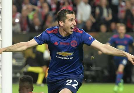 Mkhitaryan reacts to message from idol
