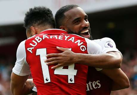 Aubameyang & Lacazette partnership on fire as Arsenal win again