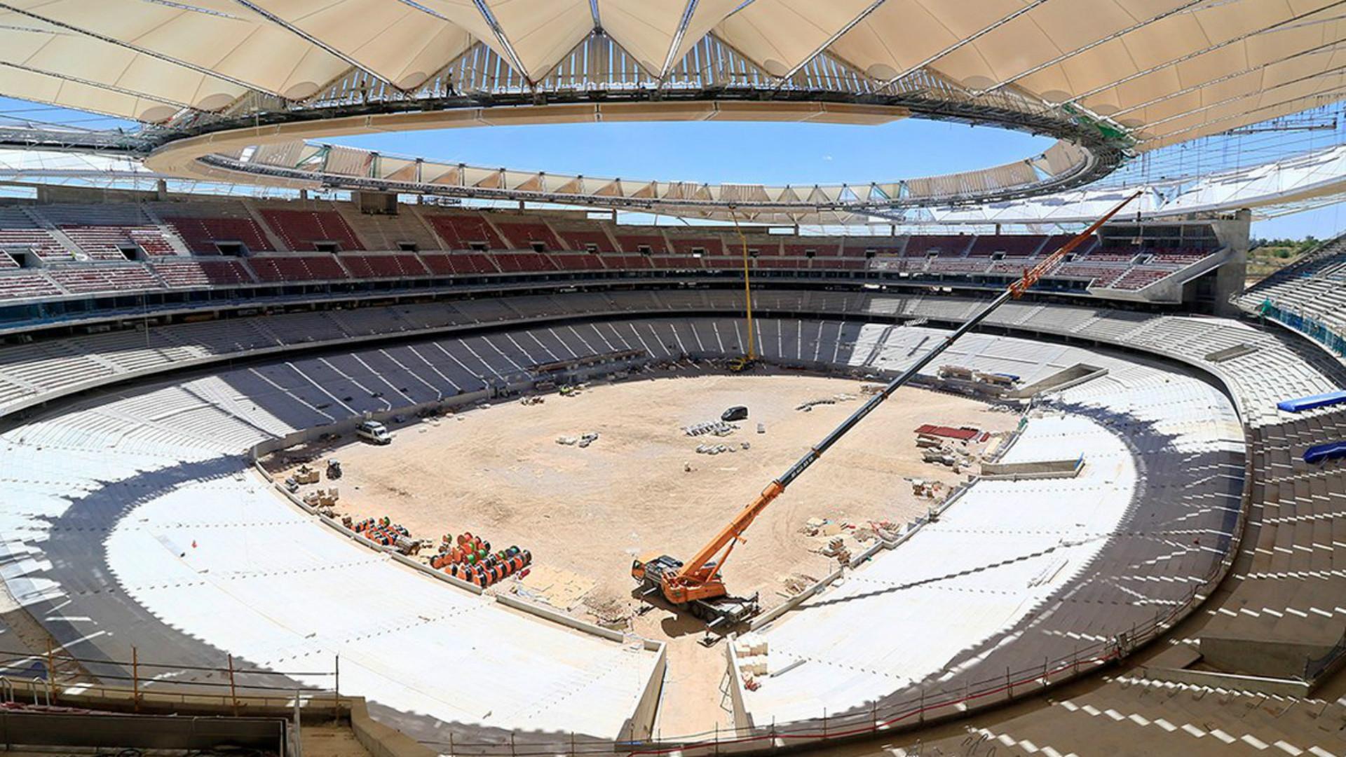 Susto del Atleti: hallan una bomba en el Wanda Metropolitano