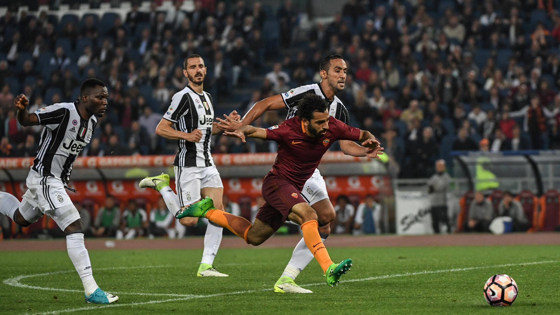 Mohamed Salah Roma Juventus