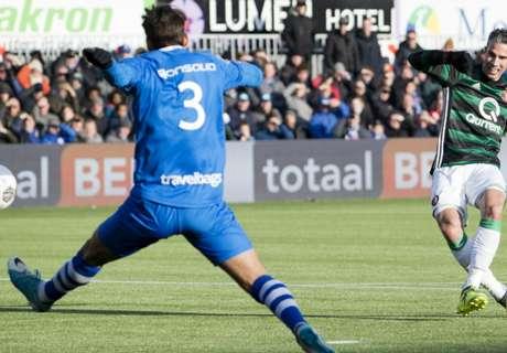 Feyenoord houdt stand na comeback PEC