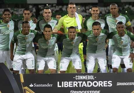 Los números de Atl. Nacional en la Libertadores