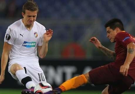Roma-Plzen 4-1: Lupa ai sedicesimi