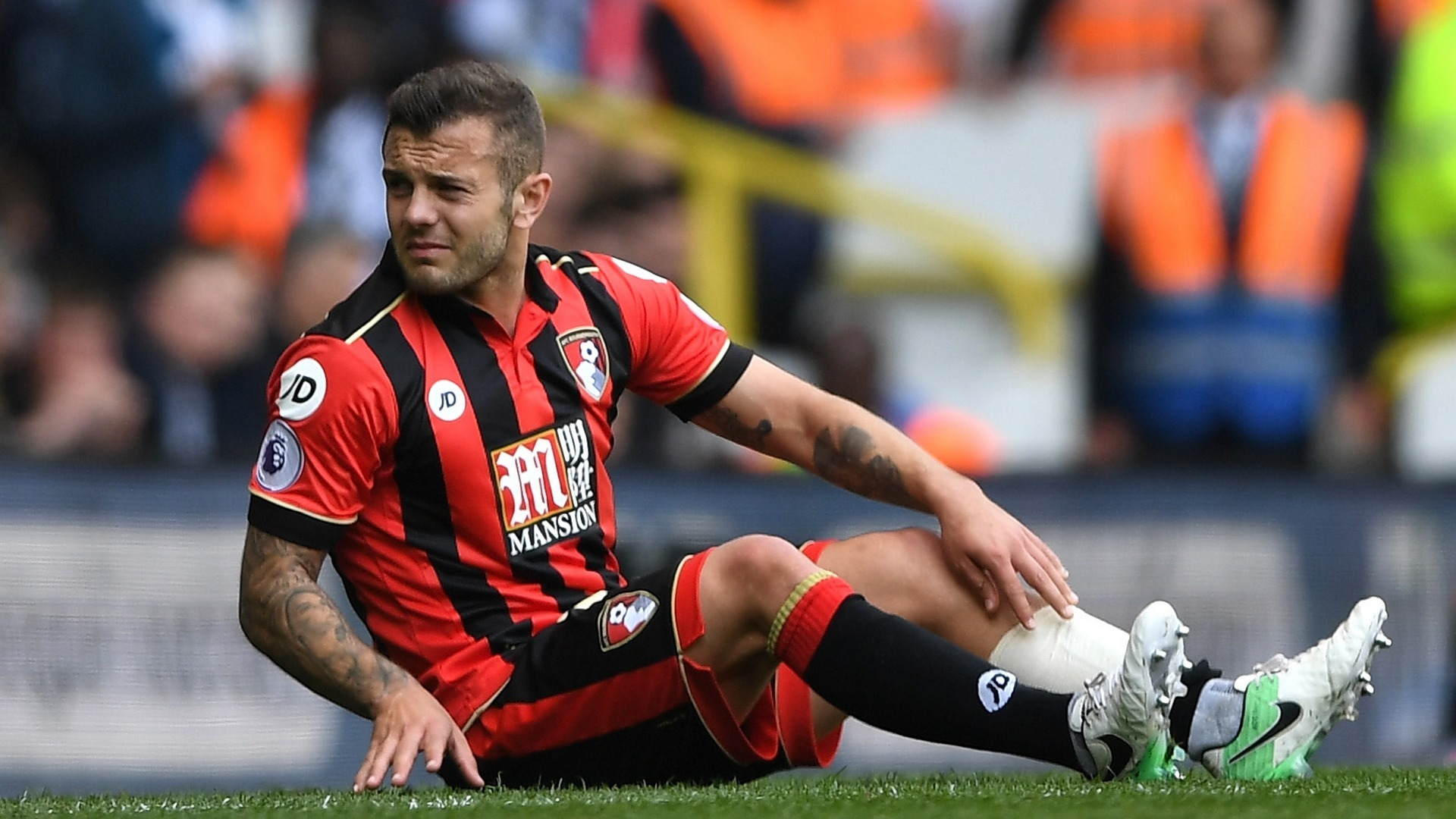 Coup dur pour Wilshere — Bournemouth