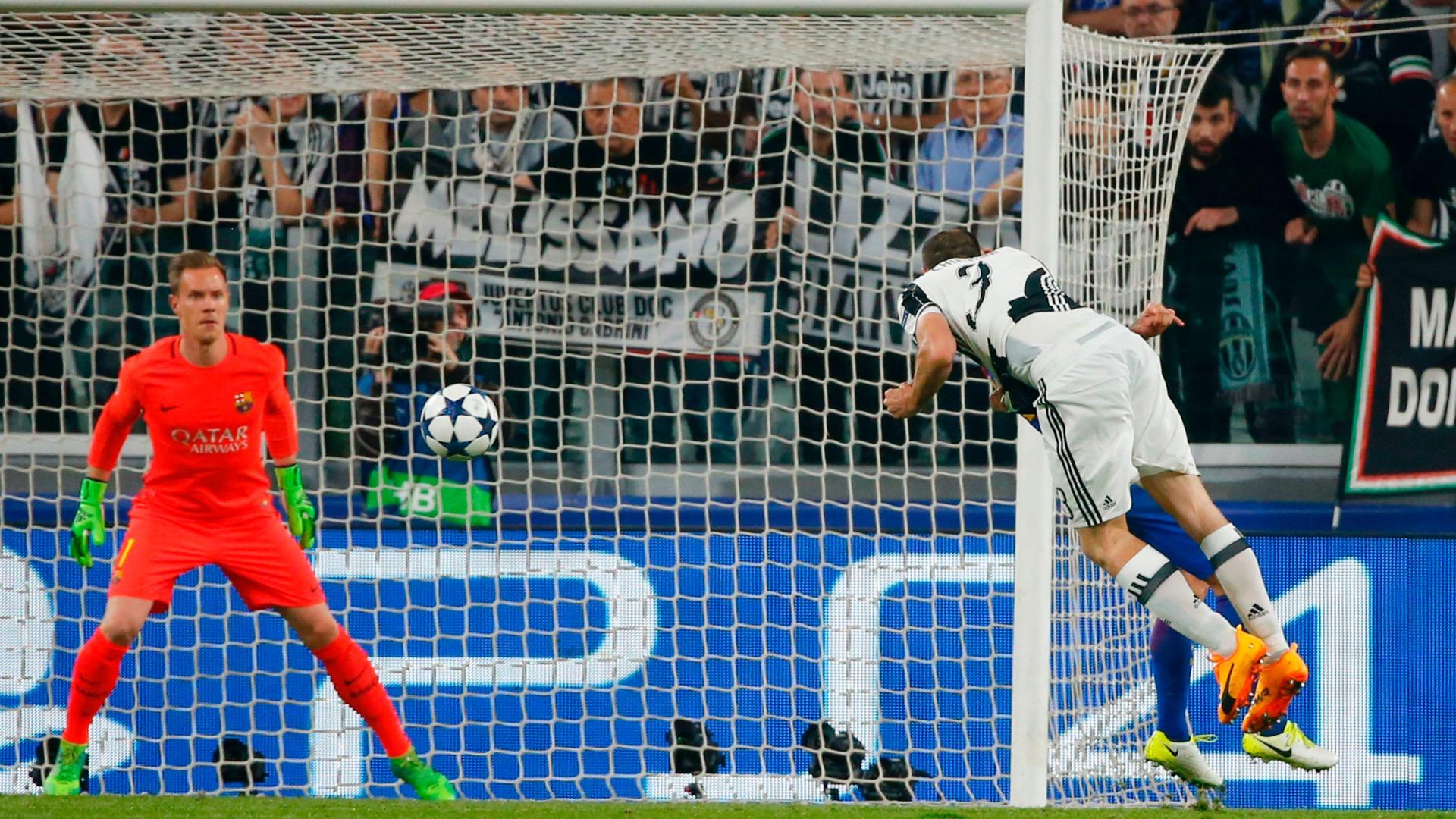Giorgio Chiellini Juventus Barcelona