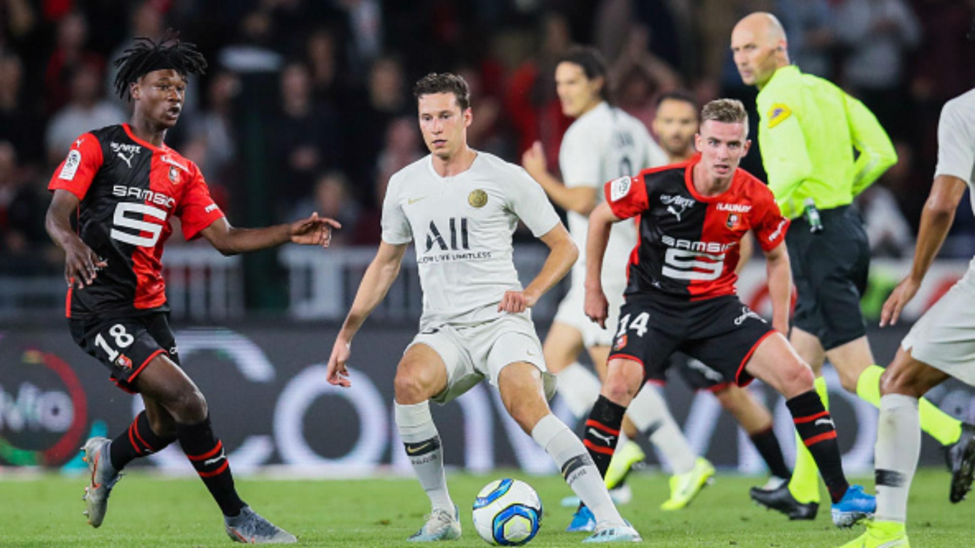 """Rennes-Cluj, Bourigeaud : """"On a montré de belles valeurs"""""""